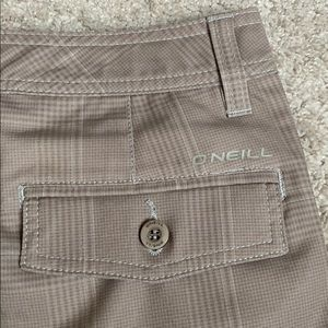 O'Neill men's hybrid shorts. Size 28